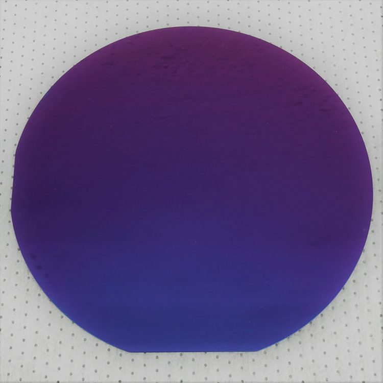 Monolayer hexagonal Boron Nitride (hBN) on 4-inch (100mm) diameter Si/SiO2 wafer